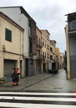 El carrer de Sant Ramon, ja reurbanitzat. Foto: Ajuntament