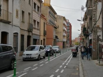 Tramo del Camí Ral donde se harán las obras. Foto: archivo Ayuntamiento